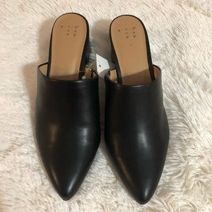 Women's Black Mules - a new day Size 7